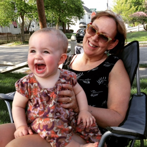 Bee and her GeeMee, my Mama.